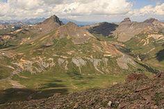 San Juan Mountains near Lake City, Colorado