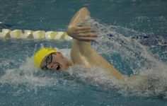 metropolitan Female swimmers | good counsel senior jack conger on his way to setting the national ...