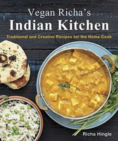 Vegan Richa's Indian Kitchen: Traditional and Creative Recipes for the Home Cook by Richa Hingle Enjoy Indian cooking, try some new spices, add more protein to your meals. Explore Indian flavors that are easy to make in your own kitchen. And once you taste Richa's mouth-watering desserts they will likely become your new favorites Richa https://www.pinterest.com/veganricha is member of Vegan Community Board https://www.pinterest.com/heidrunkarin/vegan-community