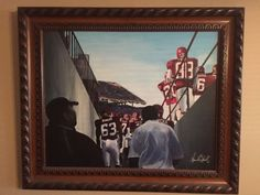 Oklahoma Sooners 2000 National Championship Original Painting. NO RESERVE