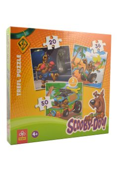 Scooby Doo 3-In-1 Puzzle
