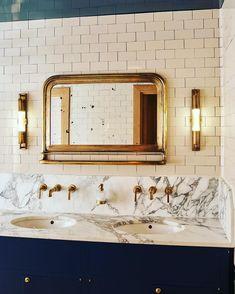 Home Interior Wall .Home Interior Wall Home Interior Design, Interior Deco, Bathroom Interior, Beautiful Bathrooms, Elegant Bathroom, Bathroom Design Layout, Art Deco Bathroom, Bathroom Interior Design, House Interior
