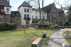 Betonbank DeLuxe Antraciet bij Förderverein Schloss Hagerhof in Bad Honnef