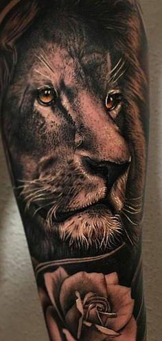 Tatuagens o que animais significa em nossa pele #tatoo,#tatuagem,#leao,#significados,#animais Lion Forearm Tattoos, Leo Tattoos, Dope Tattoos, Body Art Tattoos, Tattoos For Guys, Tattoo Ink, Lion Arm Tattoo, Tatoos, Lion Tattoo Sleeves