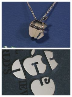Apple Puzzle Pendant