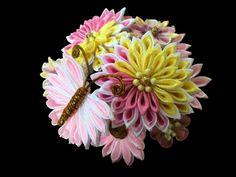 Beautiful Japanese Kanzashi comb.Beautiful by KanzashiAccessories