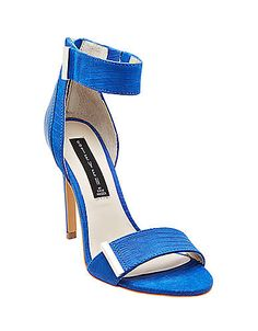 Lipsrvce Embossed Leather High-Heel Sandals | Lord and Taylor