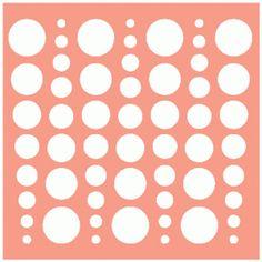 Силуэт Интернет-магазин: Шаблон круги полоса