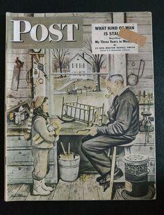 Saturday Evening Post Magazine  November 12,1949  Minot, ND