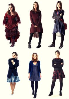 I would wear all of these outfits clara oswin oswald  sc 1 st  Pinterest & L Clara Oswald Pins And Needles Vintage Style Ditsy Tea Dress Doctor ...