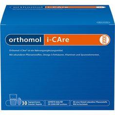 ORTHOMOL iCare Granulat: Mikronährstoff-Begleitung für Erwachsene. Orthomol i-Care ist ein Nahrungsergänzungsmittel mit sekundären…
