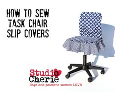 Chair Slipcover How To Sewing Pattern and by StudioCherie on Etsy, $7.00