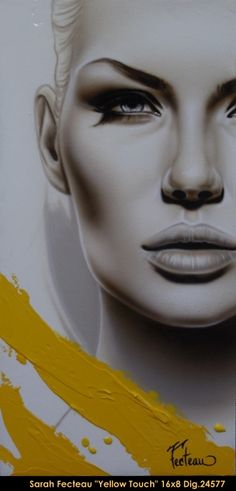 Original acrylic painting on canevas by Sarah Fecteau www.balcondart.com…
