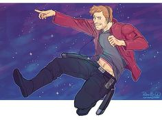 Ooga-Chaka: Awesome Fan Artworks of Star-Lord Jammin' Out | moviepilot.com