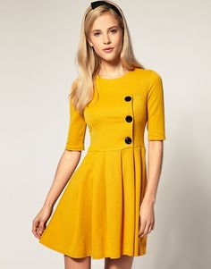i love yellow. and dresses