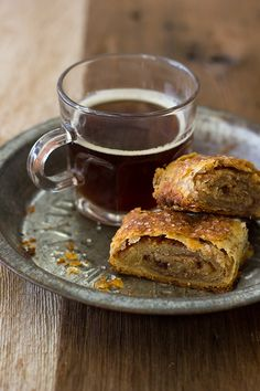 Cinnamon-Sugar Pie Crust Rolls - flaky, buttery pastries swirled with a sweet layer of cinnamon-sugar   www.brighteyedbaker.com