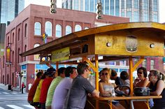 Jump aboard the Nashville Pedal Tavern this summer and get ready for a party on wheels! #HotNashville