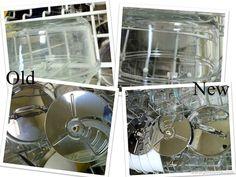 Homemade Borax Free Dishwasher Detergent Recipe; individual load