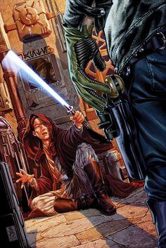 Kanan - The Last Padawan #2 Cover by Mark Brooks