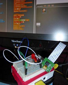 Une nouvelle version de Scratch pour Raspberry Pi, avec la prise en charge du port GPIO