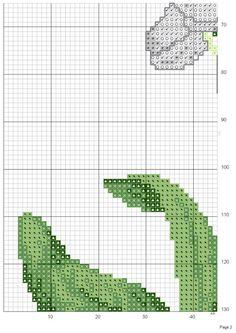 Gallery.ru / Фото #2 - 1 - patrizia61 Cross Stitch Geometric, Cross Stitch Borders, Modern Cross Stitch, Cross Stitch Flowers, Counted Cross Stitch Patterns, Cross Stitch Charts, Beautiful Flower Designs, Rico Design, Quilt Stitching