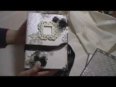 "▶ DCWV ""Bella Armoire"" wedding themed mini album - YouTube"