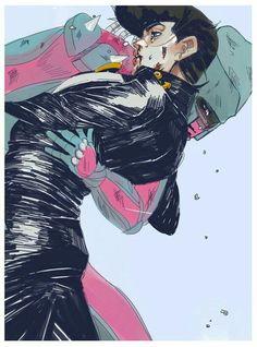 Higashikata Josuke & Crazy Diamond 東方仗助 & クレイジーダイヤモンド by pytr Jojo's Bizarre Adventure, Jojo's Adventure, Manga Anime, Anime Guys, Anime Art, Bizarre Art, Jojo Bizarre, Johnny Joestar, Jojo Parts