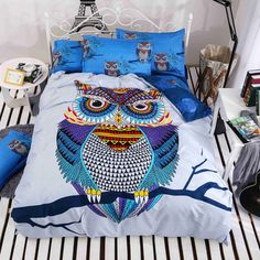 Best price on 4/3 pcs Cotton Bedding Kids Owl 3D Print Linen  Full/Twin/Queen Size Bed //    Price: $ 95.90  & Free Shipping Worldwide //    See details here: http://mrowlie.com/product/43-pcs-cotton-bedding-kids-owl-boysgirls-bedding-set-3d-bed-linen-duvet-cover-bed-sheet-pillowcases-fulltwinqueen-size-bed/ //    #owl #owlnecklaces #owljewelry #owlwallstickers #owlstickers #owltoys #toys #owlcostumes #owlphone #phonecase #womanclothing #mensclothing #earrings #owlwatches #mrowlie…