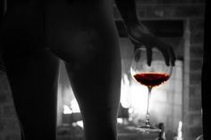 Good glass of wine, a warm fire and ......