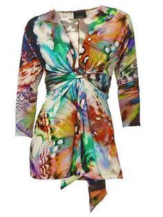 Druck-Shirt Girls Wear, Women Wear, Online Shop Kleidung, Mode Online Shop, Shops, Work Uniforms, Baby Wearing, Wrap Dress, Lady