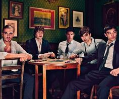 The Wanted #2 looking good guys