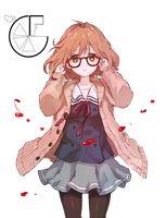 Resultado de imagen para kyoukai no kanata mirai