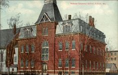 Webster Grammar School Auburn Maine