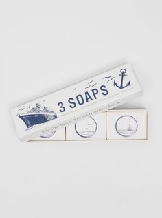 soap // dstore:      Izola Soap Trio Maritime