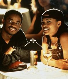 Nina and Darius! Need to dig into my DVD stash and watch this. Love Jones. Classic.