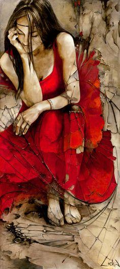 "Saatchi Art Artist Lidia Wylangowska; Painting, ""Dream Catcher   Giclee print"" #art"