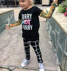 Sorry Not Sorry 2 Piece Trendy Jogger Outfit – Silly Little Ditties