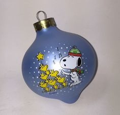 A personal favorite from my Etsy shop https://www.etsy.com/listing/257302060/hallmark-peanuts-glass-christmas