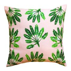 Shop The Blush Label  Little Palms Indoor/Outdoor Pillow at ATG Stores. Browse our outdoor pillows, all with free shipping and best price guaranteed.