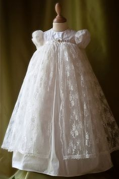 Flower Girl Dress with Intricate Lace Overlay