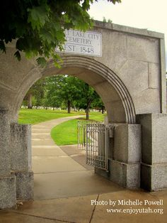 Enjoy Utah!: Salt Lake City Cemetery: Utah's Hidden Jewel