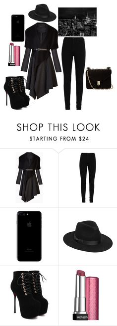 Sans titre #10 by amystyles-i on Polyvore featuring mode, BCBGMAXAZRIA, Valentino, Lack of Color and Revlon