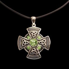 Celtic Mandala Pendant - Celtic Jewelry Medieval Pendants $23