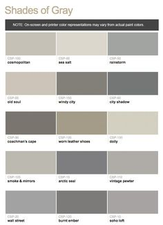 Benjamin Moore Color Stories Shades of Gray   Brown Paint ColorsGray  Benjamin Moore  Bear Creek Paint  Gray with brown tones  . Grey Brown Paint. Home Design Ideas