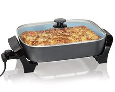 Hamilton Beach 38528 Deep Dish Ceramic Skillet, Black >>> You can get more details by clicking on the image.