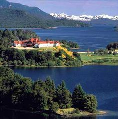 If I ever go back to Bariloche, Argentina I'm splurging to stay here. BEAUTIFUL setting!