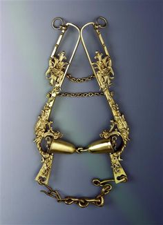 Bridle / set composed of bridle and stirrups Kellerthaler, Daniel (Goldschmied) Dresden, ca. 1615 - 1619 .