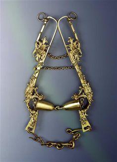 Bridle / set composed of bridle and stirrups Kellerthaler, Daniel (Goldschmied) Dresden, ca. 1615 - 1619 .