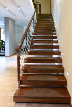 Schody wspornikowe P187-02 My Room, Balcony, Stairs, Interior Design, House, Home Decor, Banisters, Staircases, Houses