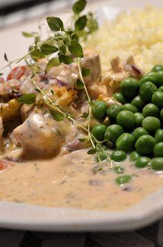 Viktväktarrecept I Love Food, Potato Salad, Diet Recipes, Food And Drink, Fish, Meat, Chicken, Ethnic Recipes, Junk Food